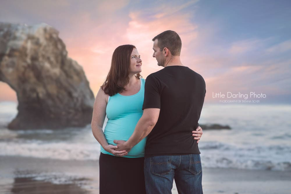 Natural bridges maternity photos