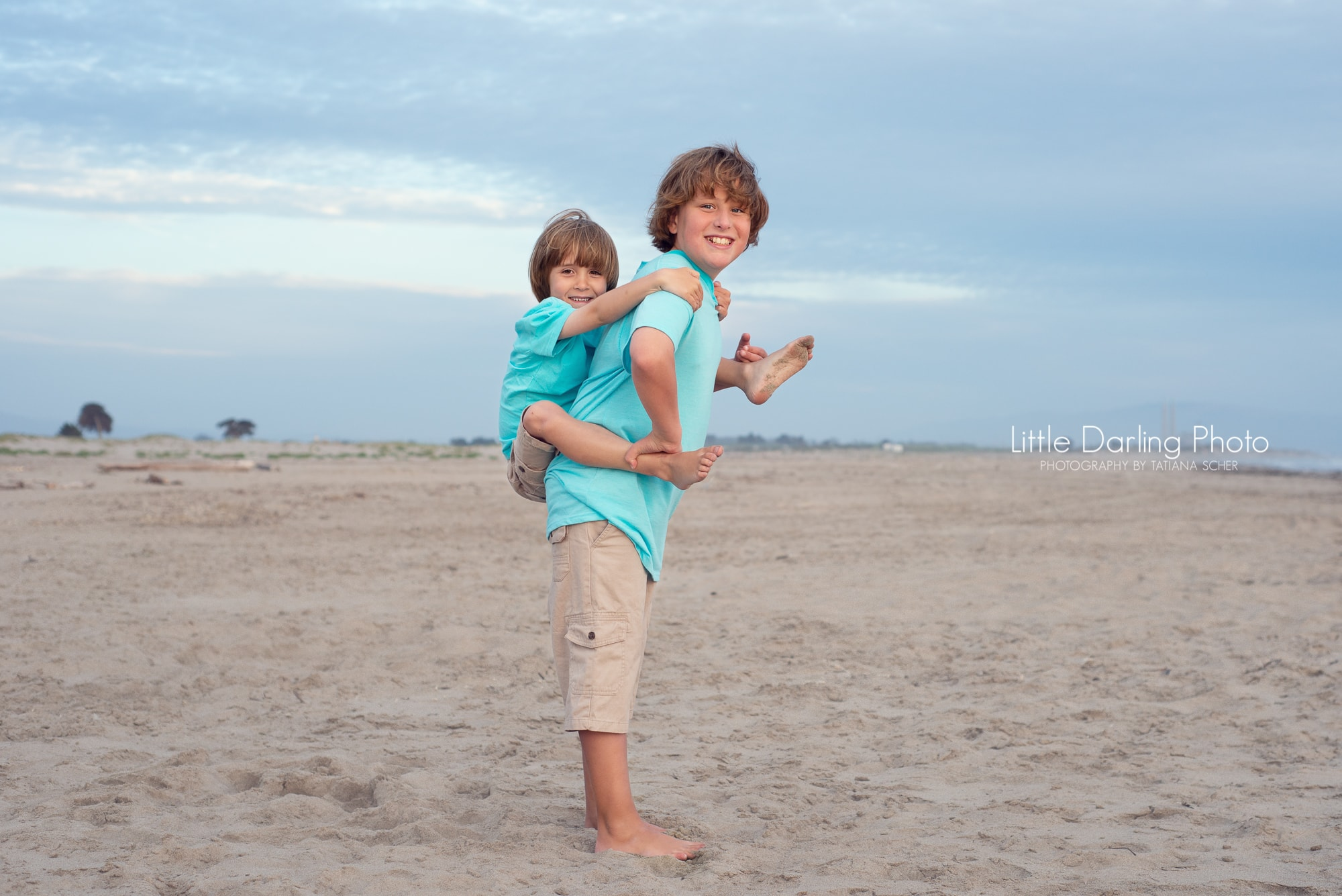 Brothers photography in Pajaro Dunes, Watsonville